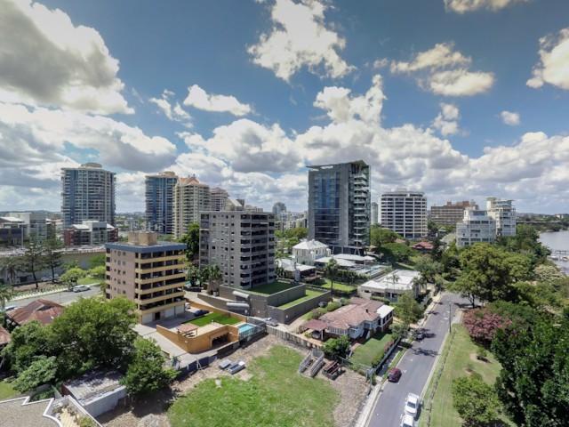 Brisbane City pano