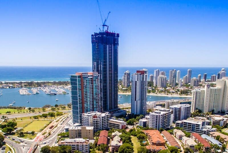 Drone Photo Southport Gold Coast
