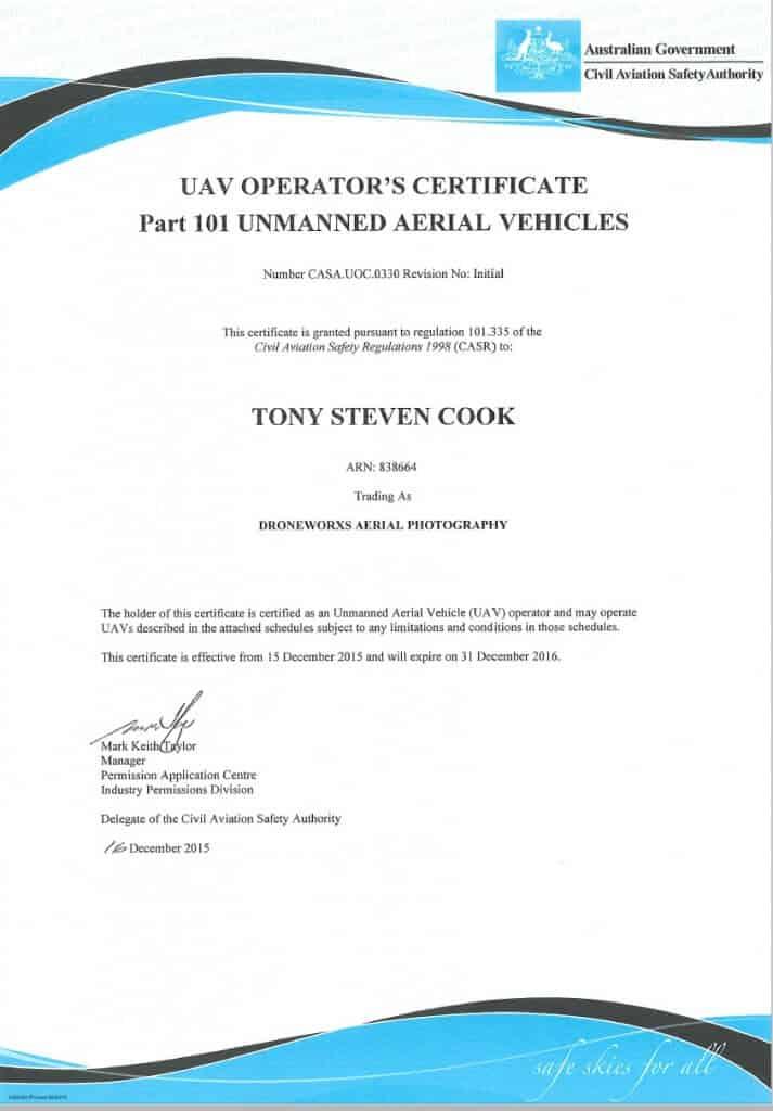 UOC Certificate