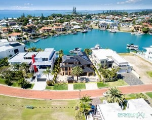 Drone Aerial Photography Raby Bay