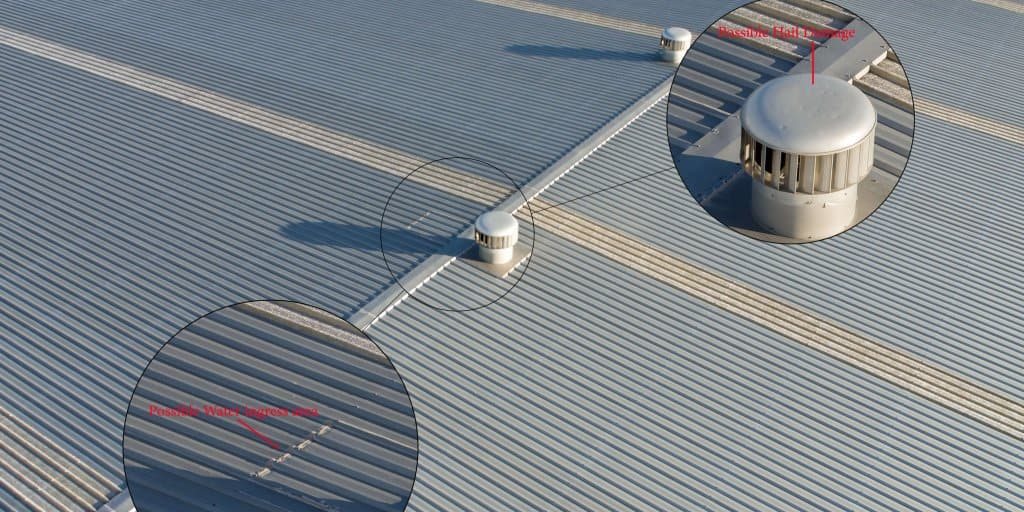 Drone Roof Inspection Aerial Inspection Services