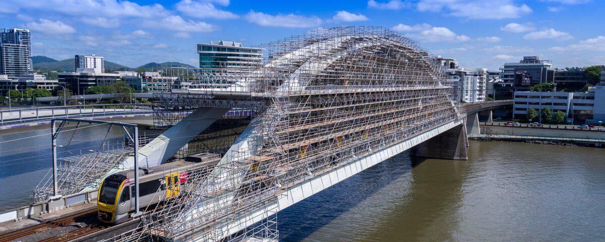 Droneworxs Bridge Inspection Merivale st Rail Bridge