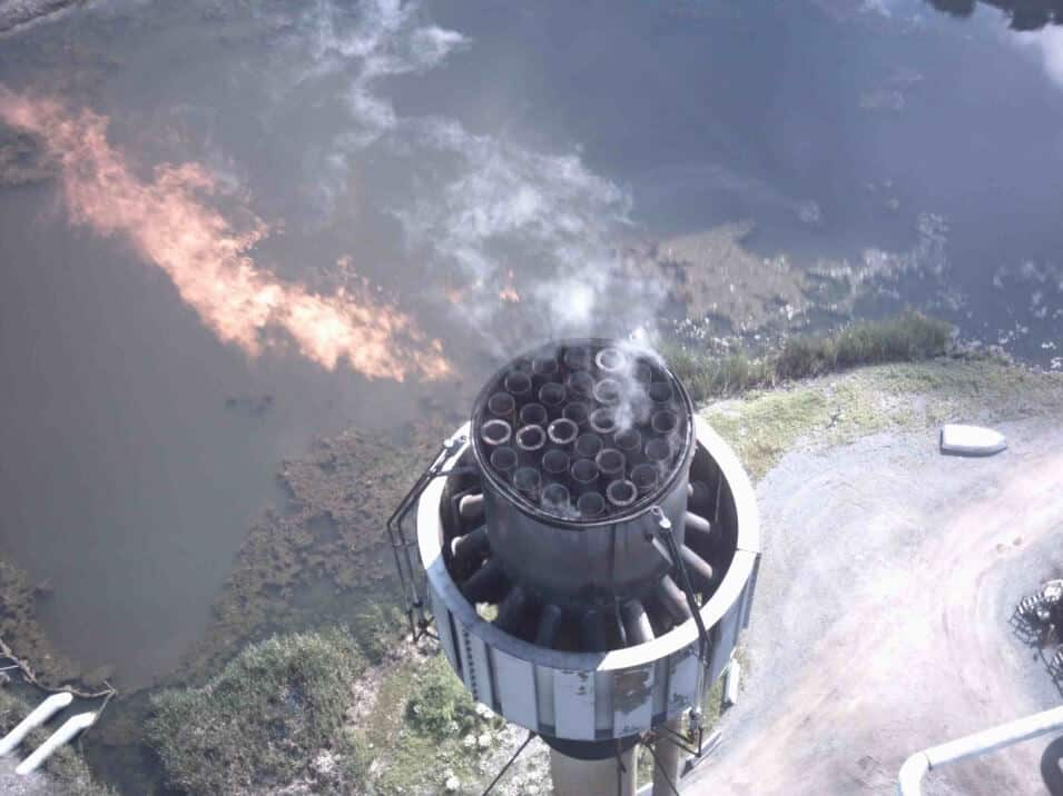 flare stack inspection procedure | asset inpection services
